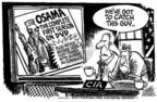 Cartoonist Mike Peters  Mike Peters' Editorial Cartoons 2004-05-13 catch