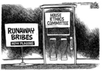 Cartoonist Mike Peters  Mike Peters' Editorial Cartoons 2005-05-13 lobby