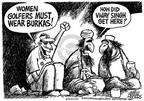 Cartoonist Mike Peters  Mike Peters' Editorial Cartoons 2003-05-16 association