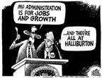 Cartoonist Mike Peters  Mike Peters' Editorial Cartoons 2003-05-17 economic policy