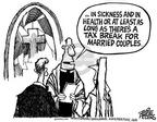 Cartoonist Mike Peters  Mike Peters' Editorial Cartoons 2003-05-25 bush