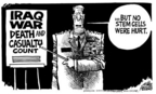 Cartoonist Mike Peters  Mike Peters' Editorial Cartoons 2005-05-28 Iraq military
