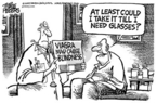 Cartoonist Mike Peters  Mike Peters' Editorial Cartoons 2005-05-31 erectile dysfunction