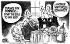 Cartoonist Mike Peters  Mike Peters' Editorial Cartoons 2003-06-05 child
