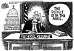 Cartoonist Mike Peters  Mike Peters' Editorial Cartoons 2003-06-08 economics