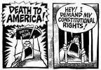 Cartoonist Mike Peters  Mike Peters' Editorial Cartoons 2002-06-15 civil rights