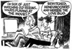 Cartoonist Mike Peters  Mike Peters' Editorial Cartoons 2005-06-23 playing