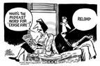 Cartoonist Mike Peters  Mike Peters' Editorial Cartoons 2003-07-03 fire