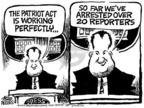 Cartoonist Mike Peters  Mike Peters' Editorial Cartoons 2005-07-09 amendment