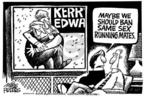 Cartoonist Mike Peters  Mike Peters' Editorial Cartoons 2004-07-11 2004 election
