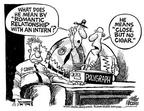 Cartoonist Mike Peters  Mike Peters' Editorial Cartoons 2001-07-14 association