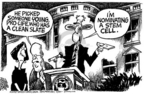 Cartoonist Mike Peters  Mike Peters' Editorial Cartoons 2005-07-22 cell