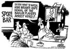 Cartoonist Mike Peters  Mike Peters' Editorial Cartoons 2003-07-24 association