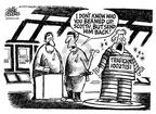 Cartoonist Mike Peters  Mike Peters' Editorial Cartoons 2002-07-27 phrase
