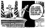 Cartoonist Mike Peters  Mike Peters' Editorial Cartoons 2003-07-31 fifth amendment
