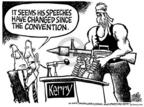 Cartoonist Mike Peters  Mike Peters' Editorial Cartoons 2004-08-01 machine