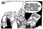 Cartoonist Mike Peters  Mike Peters' Editorial Cartoons 2002-08-03 prescription