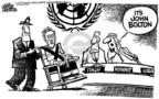 Cartoonist Mike Peters  Mike Peters' Editorial Cartoons 2005-08-04 silence