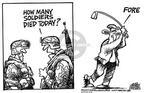 Cartoonist Mike Peters  Mike Peters' Editorial Cartoons 2003-08-14 play