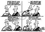 Cartoonist Mike Peters  Mike Peters' Editorial Cartoons 2003-08-15 economics