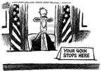 Cartoonist Mike Peters  Mike Peters' Editorial Cartoons 2002-08-16 economics