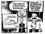 Cartoonist Mike Peters  Mike Peters' Editorial Cartoons 2001-08-17 resolution