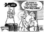 Cartoonist Mike Peters  Mike Peters' Editorial Cartoons 2002-08-17 catch