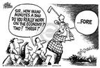 Cartoonist Mike Peters  Mike Peters' Editorial Cartoons 2002-08-23 economics