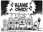 Cartoonist Mike Peters  Mike Peters' Editorial Cartoons 2003-08-24 Kenny