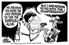 Cartoonist Mike Peters  Mike Peters' Editorial Cartoons 2001-08-27 policy