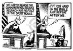 Cartoonist Mike Peters  Mike Peters' Editorial Cartoons 2003-08-30 state