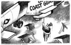 Cartoonist Mike Peters  Mike Peters' Editorial Cartoons 2005-09-01 rescue