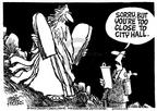 Cartoonist Mike Peters  Mike Peters' Editorial Cartoons 2003-09-04 state