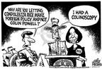 Cartoonist Mike Peters  Mike Peters' Editorial Cartoons 2001-09-06 policy