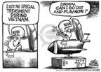 Cartoonist Mike Peters  Mike Peters' Editorial Cartoons 2004-09-11 record