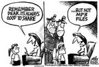 Cartoonist Mike Peters  Mike Peters' Editorial Cartoons 2003-09-12 officer