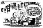 Cartoonist Mike Peters  Mike Peters' Editorial Cartoons 2001-09-15 Jordan