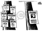 Cartoonist Mike Peters  Mike Peters' Editorial Cartoons 2001-09-16 spirit
