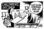 Cartoonist Mike Peters  Mike Peters' Editorial Cartoons 2003-09-19 child