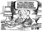 Cartoonist Mike Peters  Mike Peters' Editorial Cartoons 2004-09-27 amendment