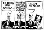 Cartoonist Mike Peters  Mike Peters' Editorial Cartoons 2001-10-05 amendment