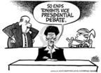 Cartoonist Mike Peters  Mike Peters' Editorial Cartoons 2004-10-09 senator