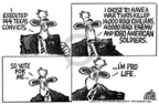 Mike Peters  Mike Peters' Editorial Cartoons 2004-10-15 capital punishment