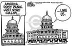 Cartoonist Mike Peters  Mike Peters' Editorial Cartoons 2001-10-22 September 11, 2001
