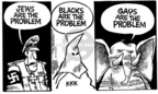 Cartoonist Mike Peters  Mike Peters' Editorial Cartoons 2004-10-30 civil rights