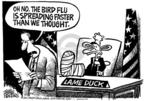 Cartoonist Mike Peters  Mike Peters' Editorial Cartoons 2005-10-20 medicine