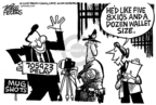 Cartoonist Mike Peters  Mike Peters' Editorial Cartoons 2005-10-23 majority leader