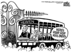 Cartoonist Mike Peters  Mike Peters' Editorial Cartoons 2005-10-27 1955