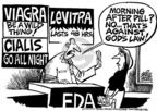 Cartoonist Mike Peters  Mike Peters' Editorial Cartoons 2005-11-17 erectile dysfunction