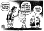Cartoonist Mike Peters  Mike Peters' Editorial Cartoons 2006-01-13 record